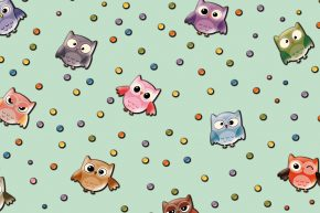 Kids Collection Owl 15181-2