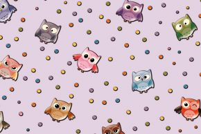 Kids Collection Owl 15181-3